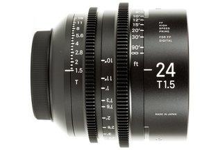 Sigma Cine 24mm T1.5 FF Prime (Canon EF)