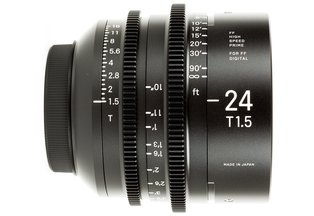 Sigma 24 T1.5 Cine Prime Canon EF Mount