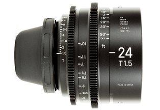 Sigma Cine 24mm T1.5 FF Prime (PL)