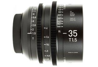 Sigma 35 T1.5 Cine Prime Canon EF Mount