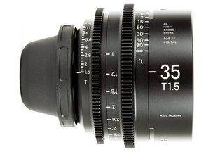 Sigma Cine 35mm T1.5 FF Prime (PL)