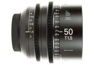 Sigma 50 T1.5 Cine Prime Canon EF Mount