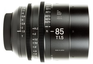 Sigma 85 T1.5 Cine Prime Canon EF Mount