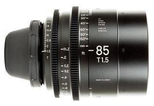 Sigma 85 T1.5 Cine Prime PL Mount