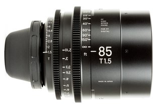 Sigma Cine 85mm T1.5 FF Prime (PL)