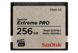 SanDisk 256GB Extreme PRO 525MB/s CFast 2.0