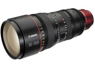 Canon 30-300mm T2.95-3.7 CN-E L S Cine Zoom Lens EF Mount
