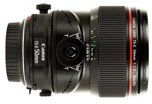 Canon 50 f/2.8L Macro TS-E Tilt Shift