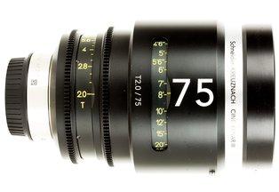 Schneider Cine-Xenar III 75mm T2.0 EF