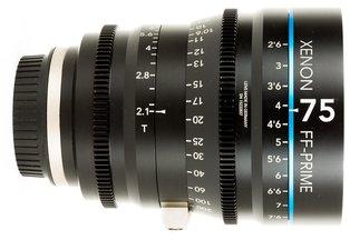 Schneider Xenon FF Prime XN 75mm T2.1 (EF)