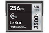 Lexar 256GB Professional 3500X 525MB/s CFast 2.0