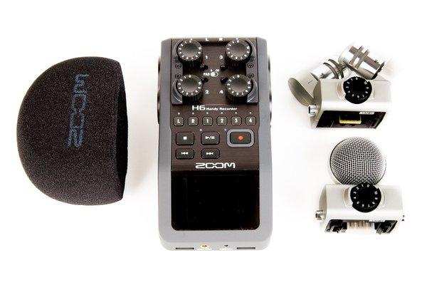 rent a zoom h6 handy recorder at. Black Bedroom Furniture Sets. Home Design Ideas