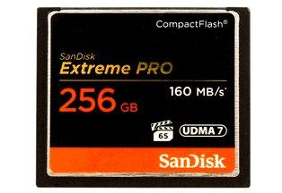 SanDisk CF 256GB Extreme Pro 160MB/s