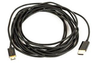 Monoprice 15ft Ultra-Slim HDMI Male-Mini Cable