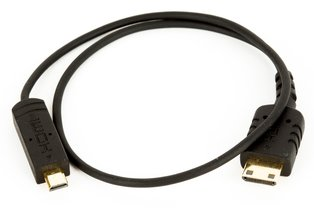 SmallHD Thin 12-inch Micro to Mini HDMI Cable for Focus