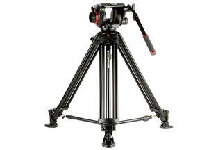 Manfrotto 509HD Head w/ 545B Professional Video Tripod