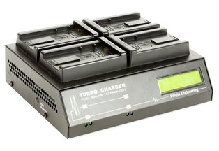 Dolgin TC400 Four Position Charger for Sony NP-FW50