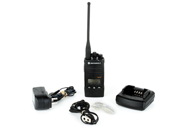 Rent a Motorola RDU4160D RDX Two-Way UHF Radio at LensProToGo com