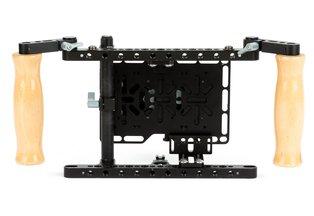 Wooden Director's Monitor Cage v2 (V-Mount)