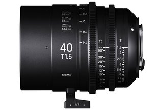 Sigma Cine 40mm T1.5 FF Prime (Sony E)