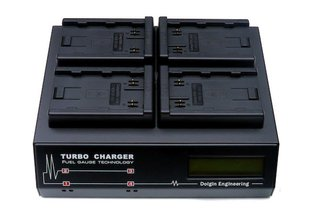Dolgin TC400 Four Position Charger for Canon BP-A60