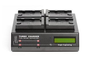 Dolgin TC400 Four Position Charger for Sony BP-U60