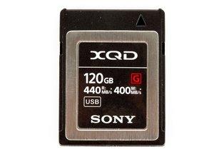 Sony 120GB XQD 440MB/s G Series Memory Card