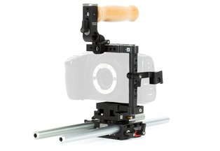 Wooden BMPCC4K Unified Base Accessory Kit