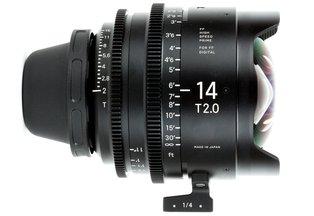 Sigma Cine 14mm T2.0 FF Prime (Canon EF)