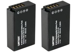 Watson EN-EL20 Battery 2-Pack