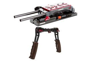 Zacuto Tripod-Ready Dual Trigger Grip VCT Pro Baseplate Kit