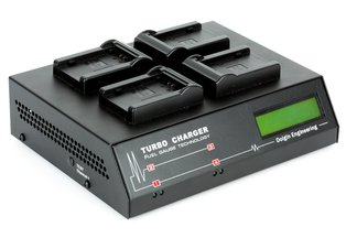Dolgin TC400 Four Position Charger for Sony NP-FZ100