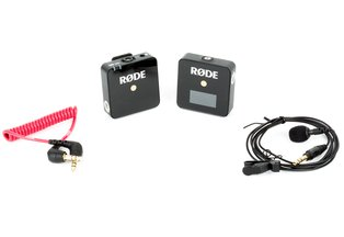 Rode Wireless GO Compact Wireless System w/ Omni Lav Mic