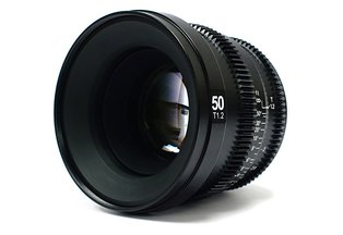 SLR Magic MicroPrime Cine 50mm T1.2 for Sony E