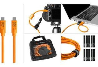 Tether Tools USB 3.0 Type-C to Type-C Starter Tethering Kit