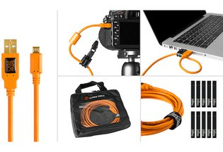 Tether Tools USB 2.0 Type-A to Micro-B Starter Tethering Kit