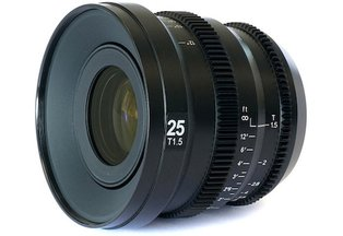 SLR Magic MicroPrime Cine 25mm T1.5 for Micro 4/3