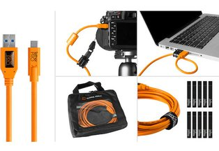 Tether Tools USB 3.0 Type-A to Type-C Starter Tethering Kit