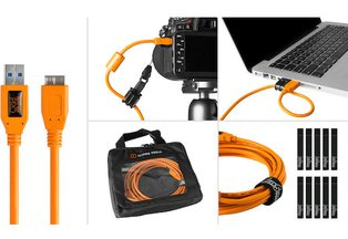 Tether Tools USB 3.0 Type-A to Micro-B Starter Tethering Kit