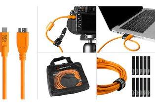 Tether Tools USB 3.0 Type-C to Micro-B Starter Tethering Kit