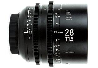 Sigma Cine 28mm T1.5 FF Prime (Canon EF)
