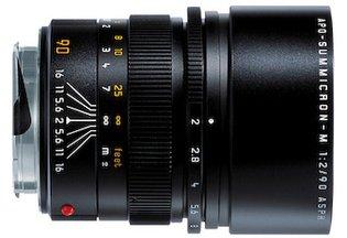 Leica 90mm f/2.0 APO Summicron ASPH