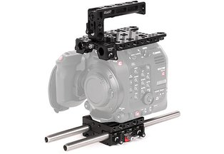 Wooden Unified Base Accessory Kit for Canon C500 Mark II