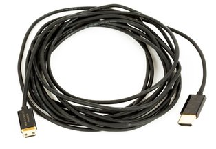 High-Speed HDMI Male to Mini-HDMI 15ft Cable w/ RedMere