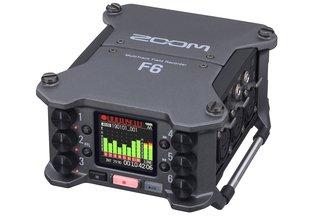 Zoom F6 Multi Track Field Recorder