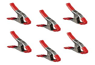 Bessey Steel Spring Clamp 2 1/4 x 2-inch - Set of 6