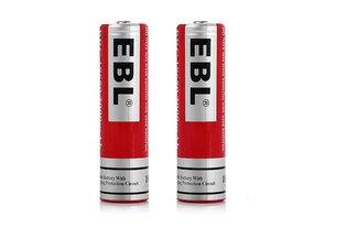 EBL 18650 3.7v 3000mAh Li-ion Rechargeable Battery 2-pack