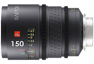 IB/E Optics Raptor 150mm T2.9 Macro Prime (PL)