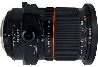 Rokinon 24mm f/3.5 Tilt-Shift for Sony E