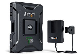 Anton Bauer 68Wh Titon Base Battery w/ P-Tap Charger